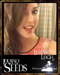 Elizabeth Leigh - Journalist and first campaign veteran - Journey of the seeds